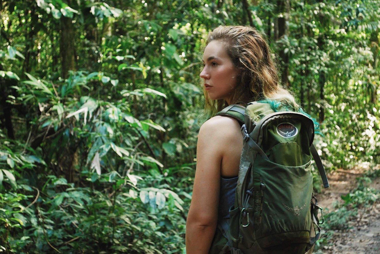 Pictured: Samantha Zwicker in the Peruvian Amazon